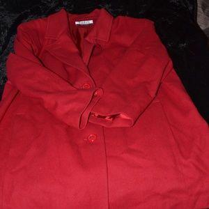 Red Forrani Coat
